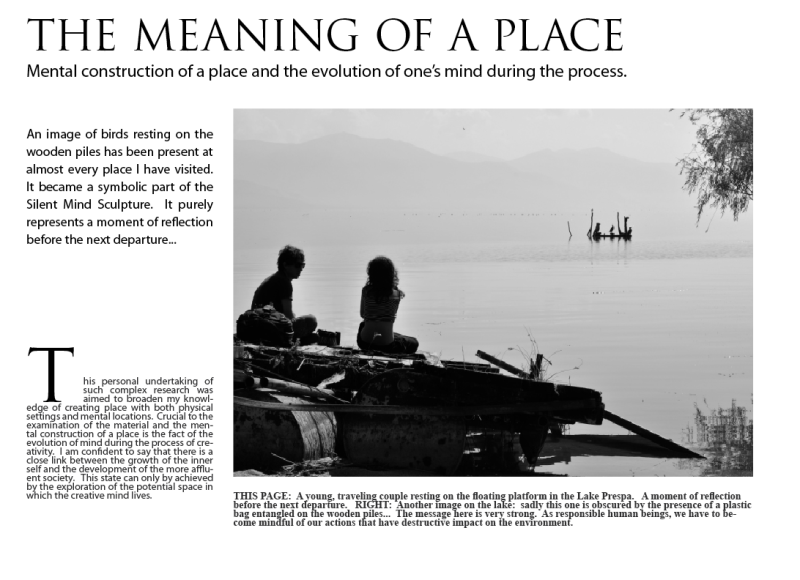 the meaning of a place